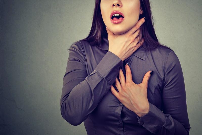 Dyspnoe, Atemnot, Atemstörung, Kurzatmigkeit