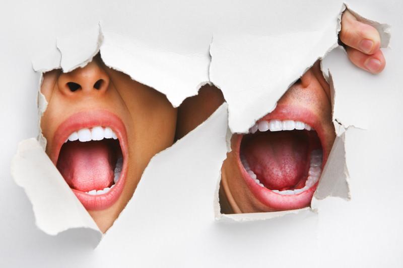 Eingerissene Mundwinkel, Faulecken, Mundwinkelcheilitis, Mundwinkelrhagaden, Perlèche