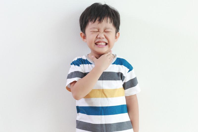 Fremdkörper in der Luftröhre oder Speiseröhre