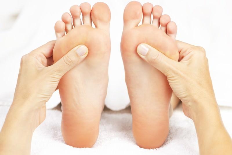 Fußreflexzonentherapie, FRM, Fußreflexzonenmassage