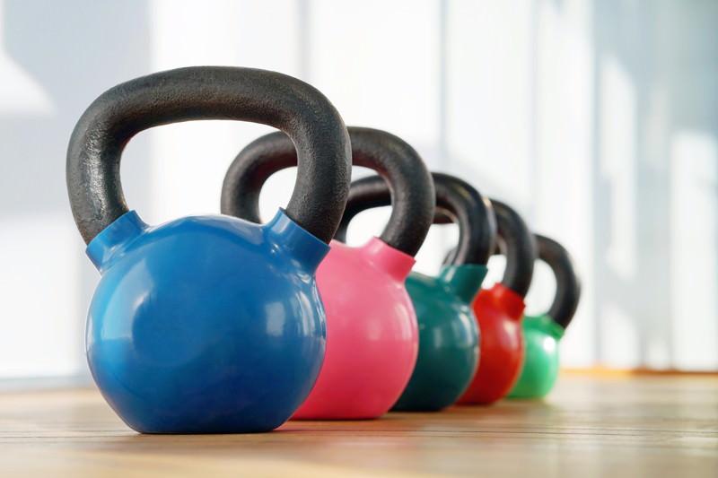 Kettlebell-Training, Kugelhantel, Rundgewicht, Rundhantel