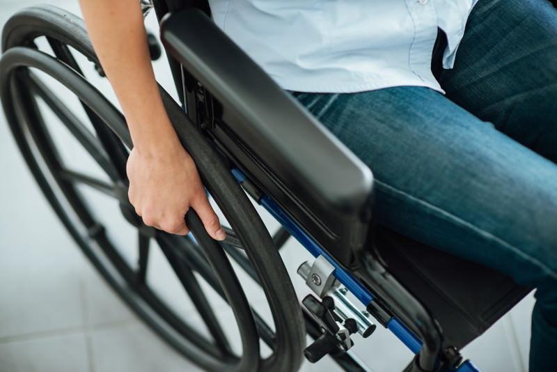 Rollstuhl, Krankenfahrstuhl, Rolli
