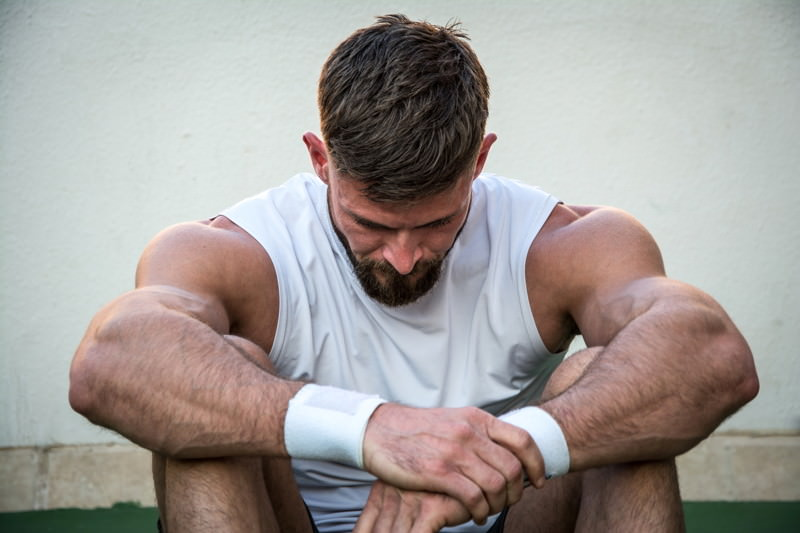 Sportsucht, Übertraining