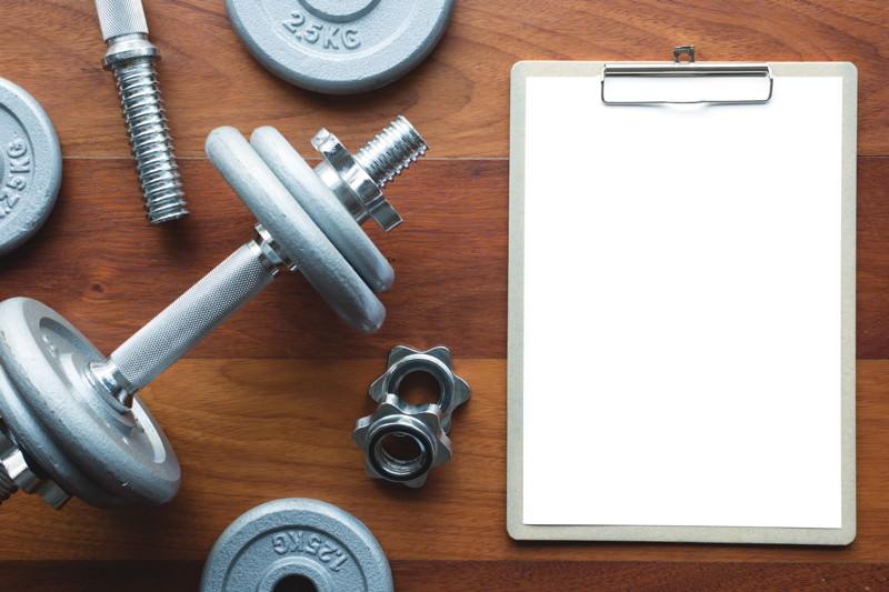 Muskelaufbau Trainingsplan