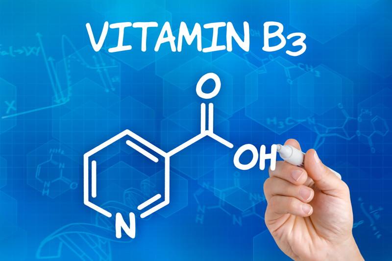 Vitamin B3, Niacin, Nicotinamid, Nicotinsäure, Nicotinsäureamid, PP-Faktor, Pyridin-3-carbonsäure